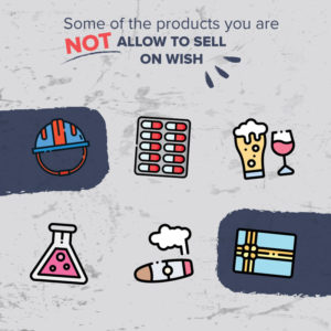 Products you cannot sell on wish - Vallet