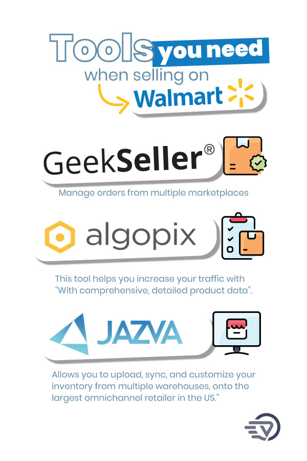 tools you need when selling on Walmart