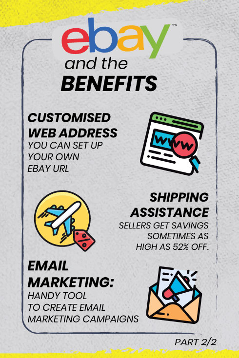 Benefits of selling on eBay, choose the right platform